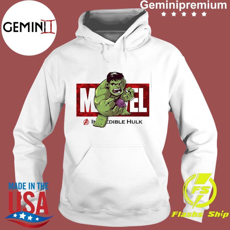 Marvel The Avengers Q Version Of The Hulk Shirt Hoodie