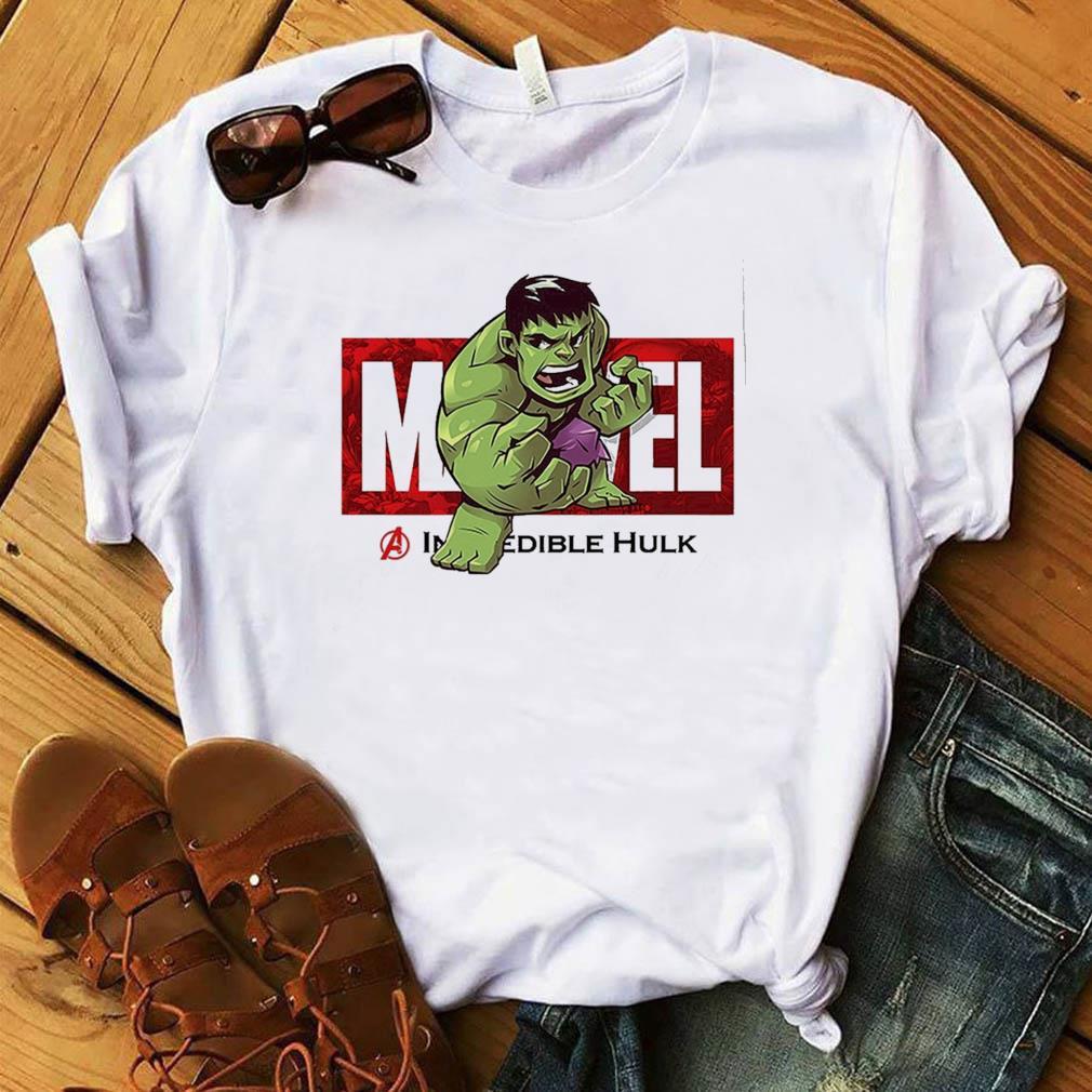 Marvel The Avengers Q Version Of The Hulk Shirt