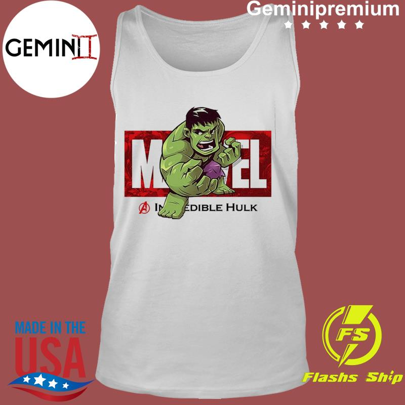 Marvel The Avengers Q Version Of The Hulk Shirt Tank Top