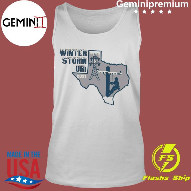 The Winter Storm Uri I Survived Snovid 2021 Shirt Tank Top