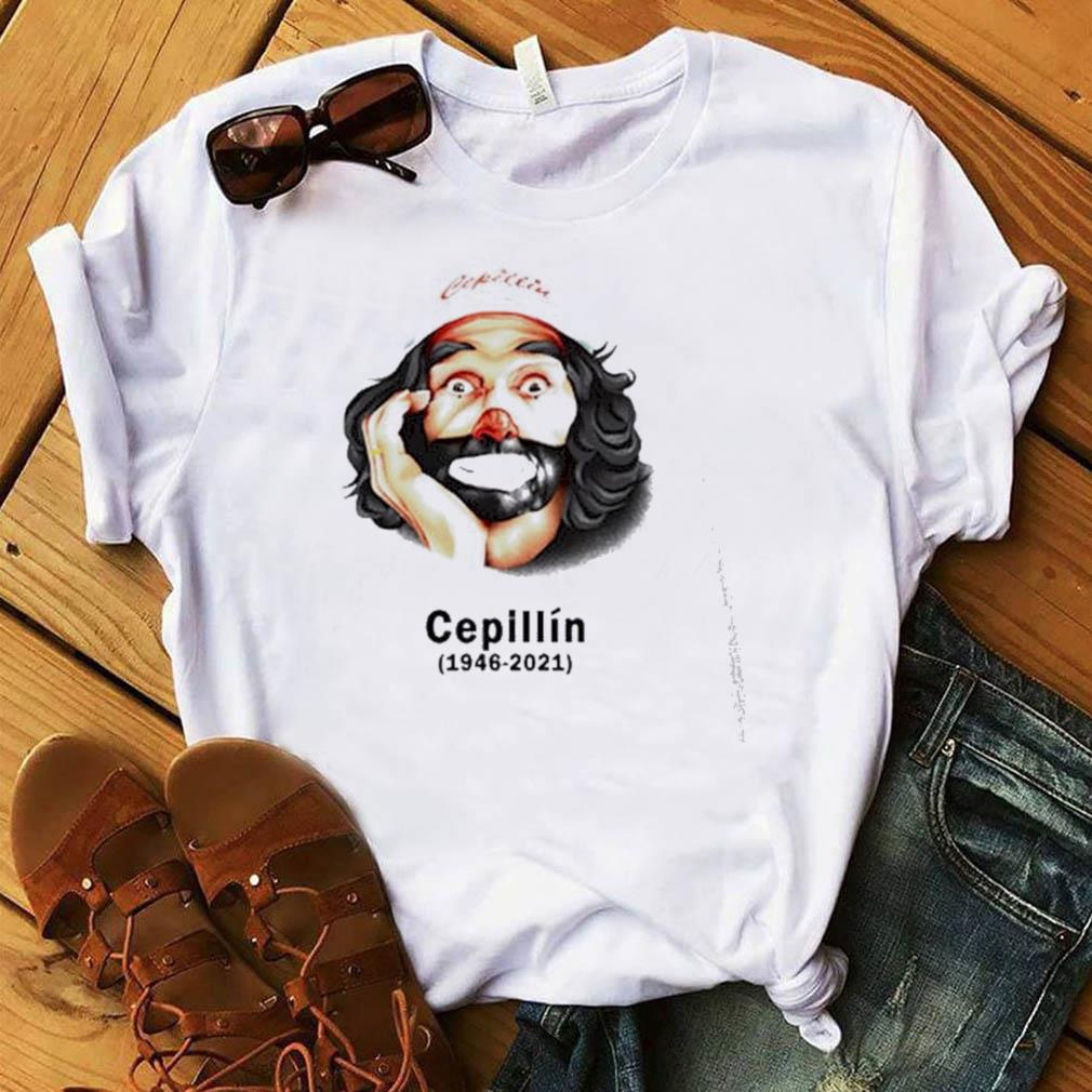 The Cepillín 1946-2021 shirt
