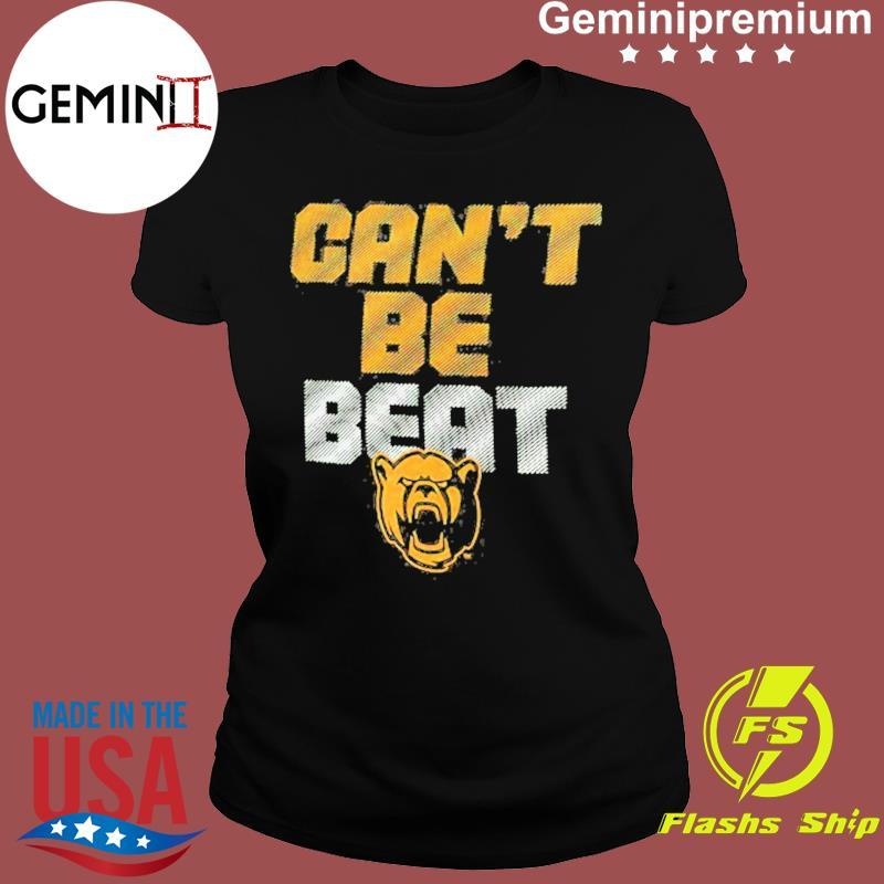 Baylor Bears Can't Be Beat Shirt Ladies tee
