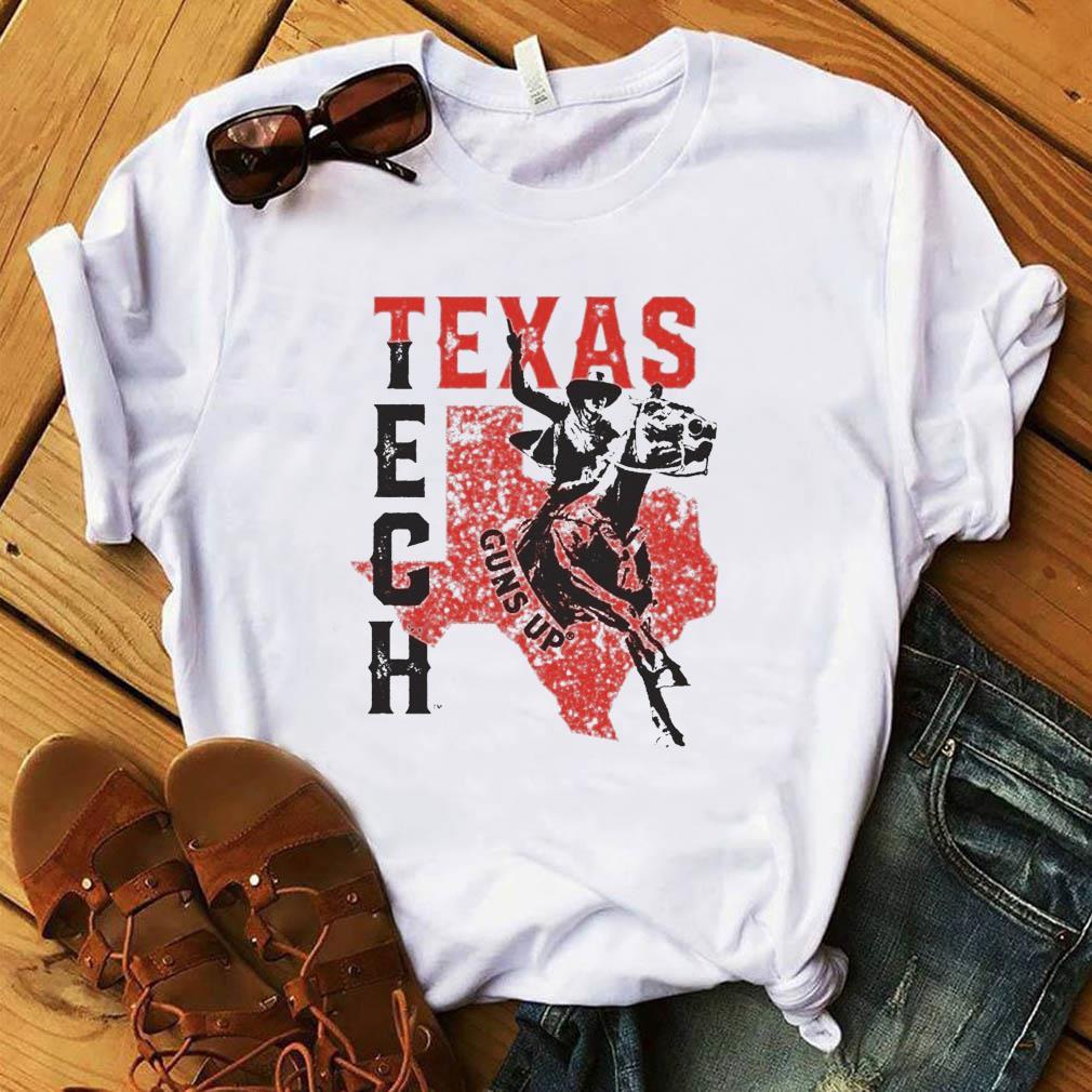 Horse Racing Texas Tech Guns Up Shirt