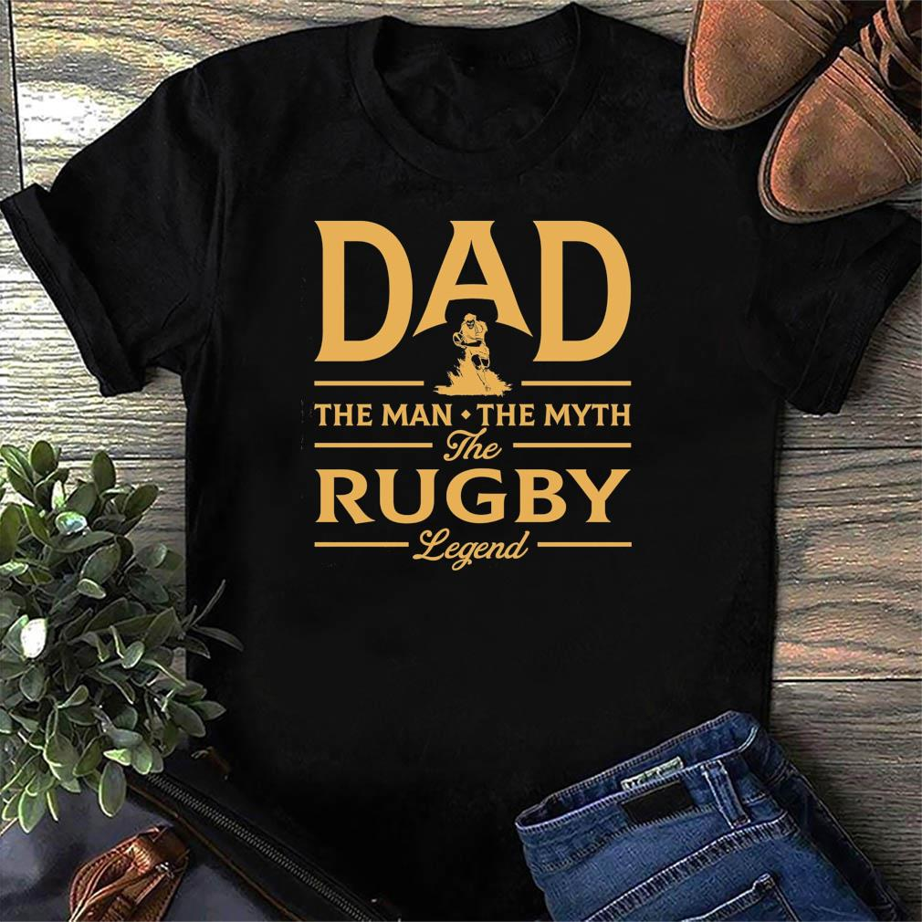 Official Dad The Man The Myth The Rugby Legend - Happy Father's Day 2021 Shirt