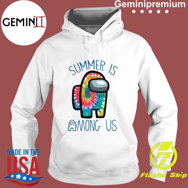 Official Summer Is Among Us - Among Us Impostor Art Color Shirt Hoodie