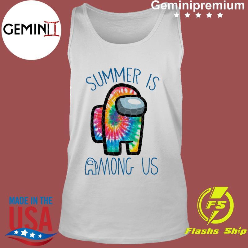 Official Summer Is Among Us - Among Us Impostor Art Color Shirt Tank Top