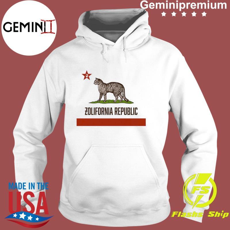 California Zolifornia Republican Shirt Hoodie