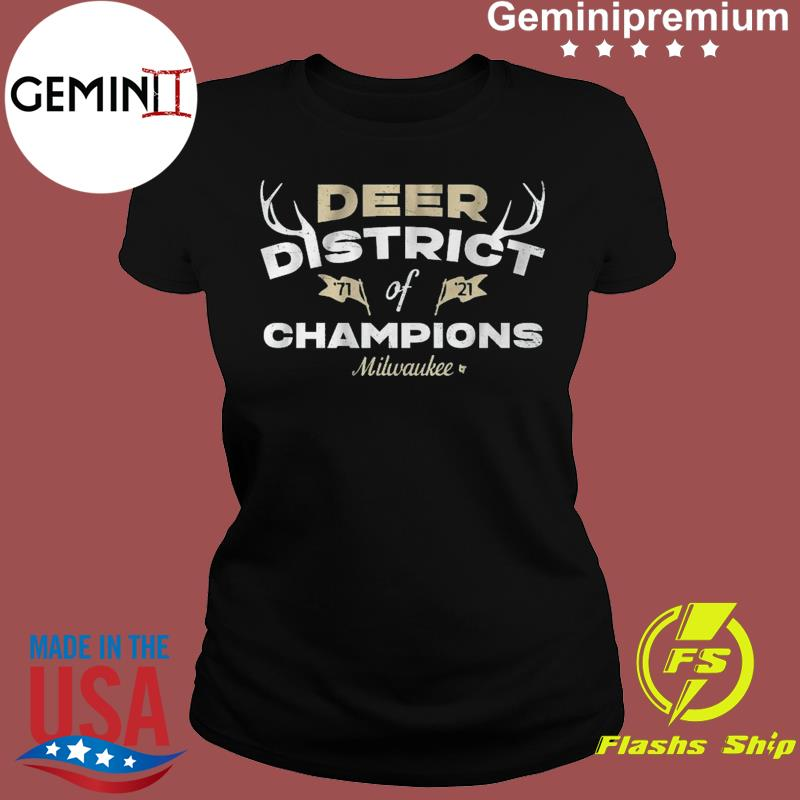 DEER DISTRICT OF CHAMPIONS Mikwauke Basketball Shirt Ladies tee