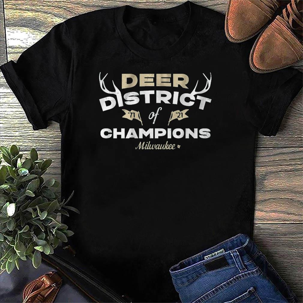DEER DISTRICT OF CHAMPIONS Mikwauke Basketball Shirt