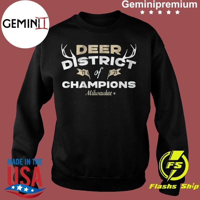 DEER DISTRICT OF CHAMPIONS Mikwauke Basketball Shirt Sweater