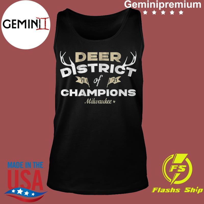 DEER DISTRICT OF CHAMPIONS Mikwauke Basketball Shirt Tank top