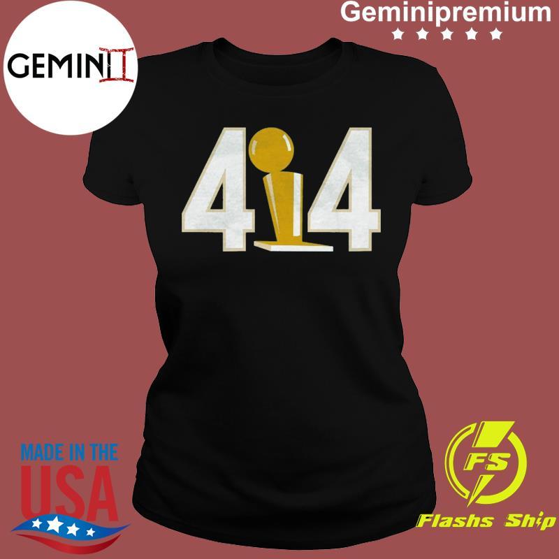 Funny 414 Trophy Shirt Ladies tee
