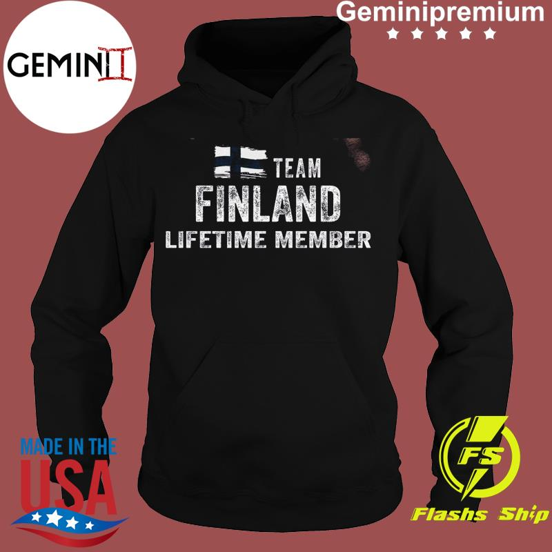 Funny Team Finland Lifetime Membeacr Flag Shirt Hoodie