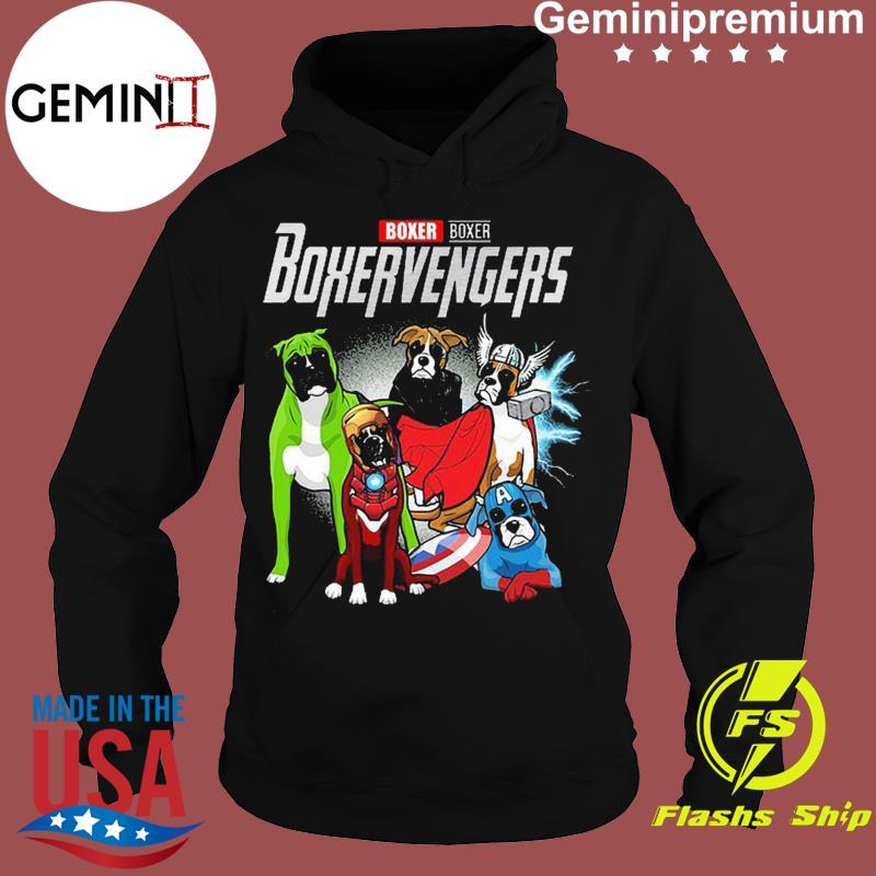 Marvel Boxer Boxervengers Funny t-s Hoodie