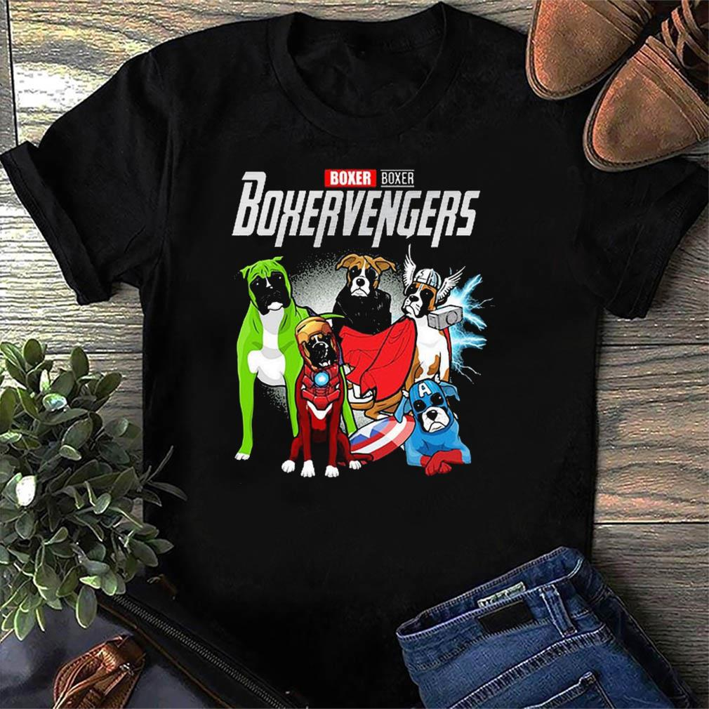 Marvel Boxer Boxervengers Funny t-shirt