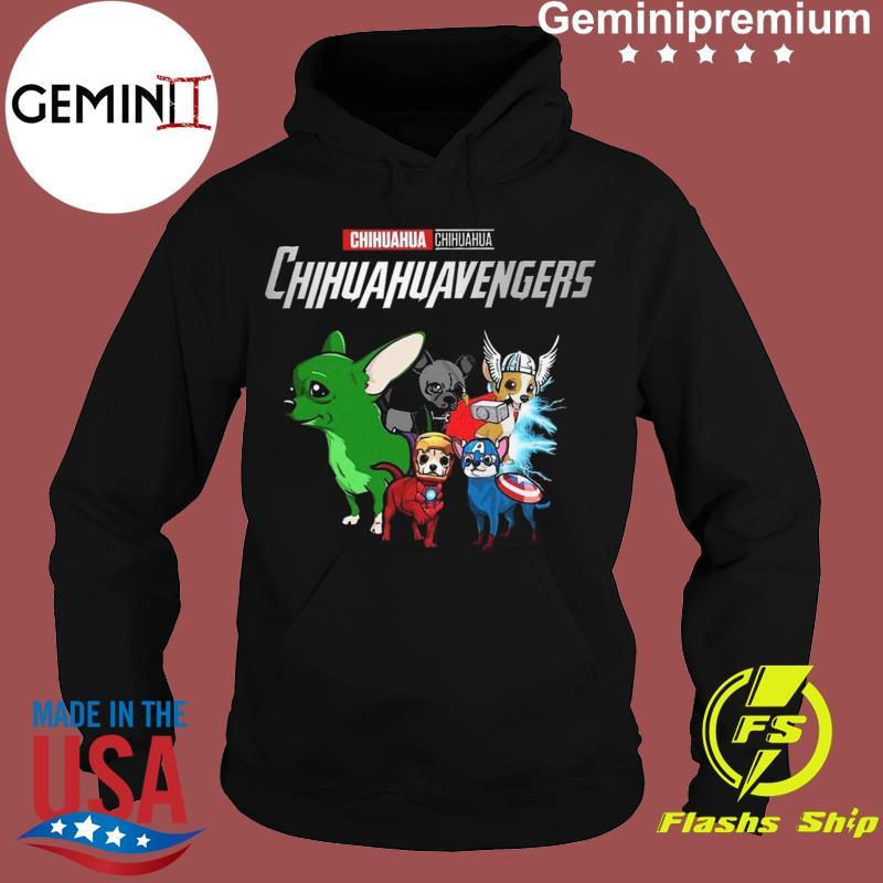 Marvel Chihuahua Chihuahuavengers Funny t-Shirt Hoodie