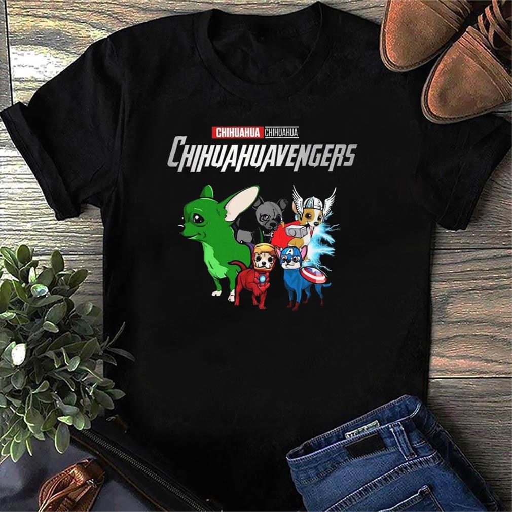Marvel Chihuahua Chihuahuavengers Funny t-Shirt