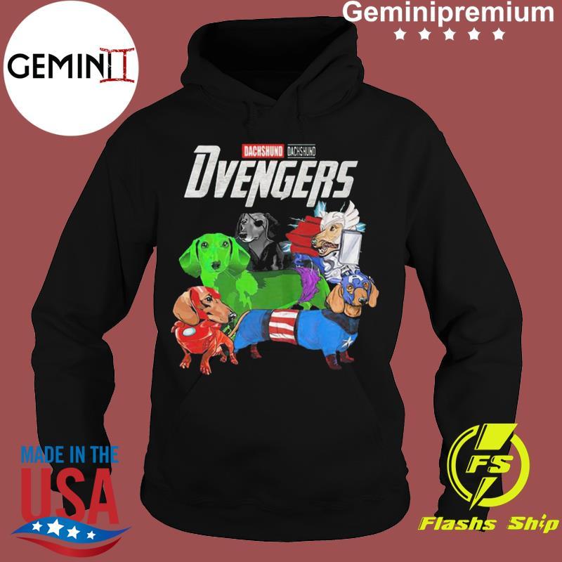 Marvel Dachshund Dvengers Funny t-s Hoodie