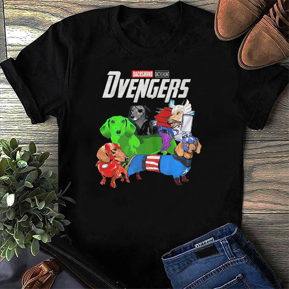 Marvel Dachshund Dvengers Funny t-shirt