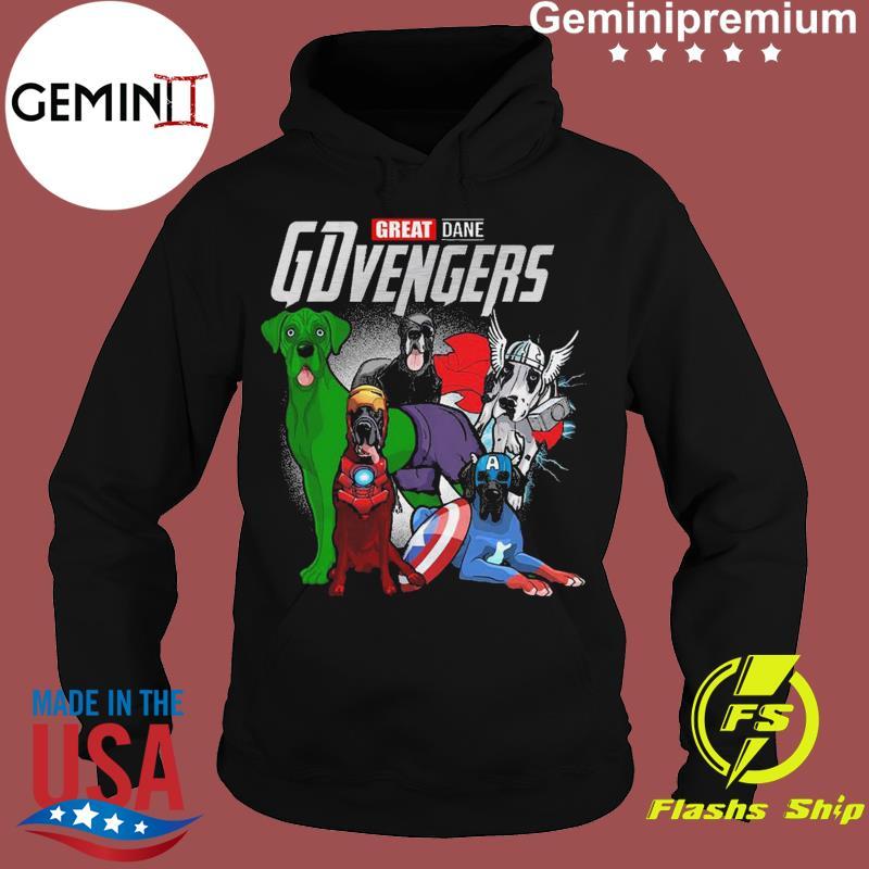 Marvel Great Dane GDvengers Funny t-Shirt Hoodie