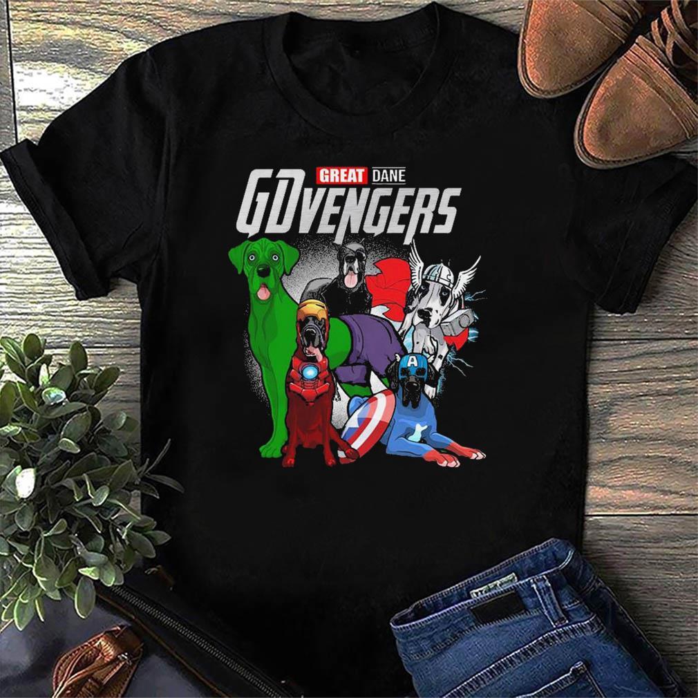 Marvel Great Dane GDvengers Funny t-Shirt