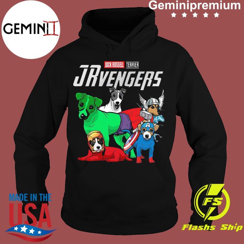 Marvel Jack Russell Terrier Avengers Shirt Hoodie