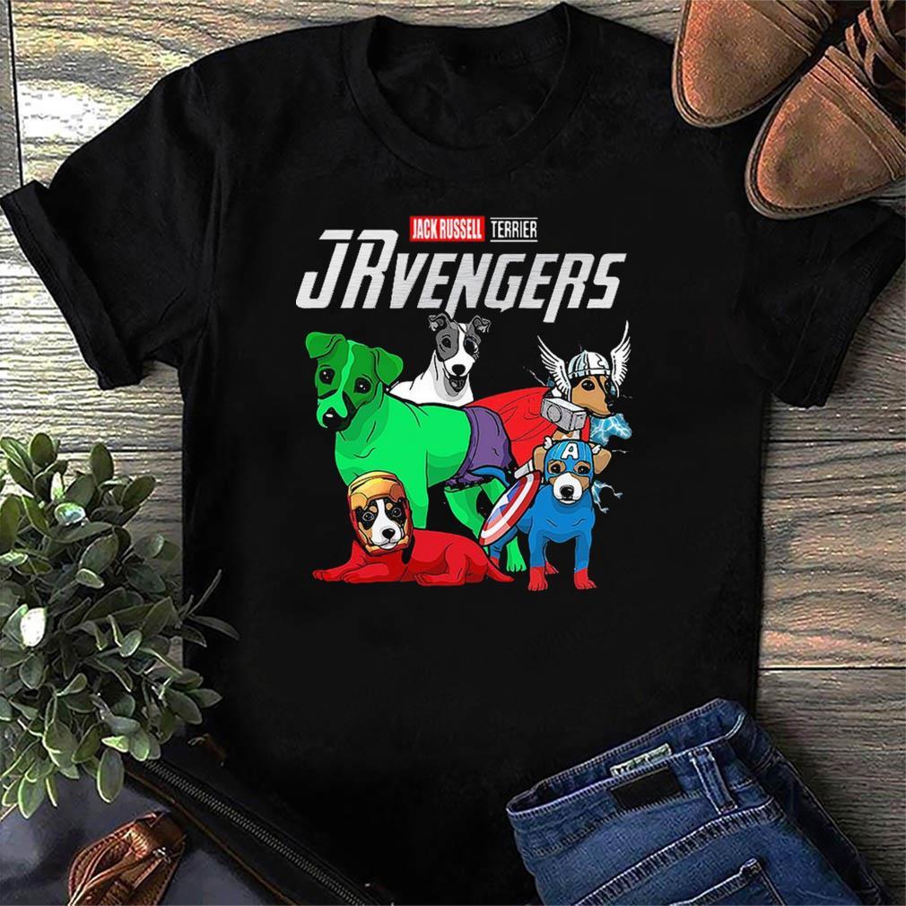 Marvel Jack Russell Terrier Avengers Shirt