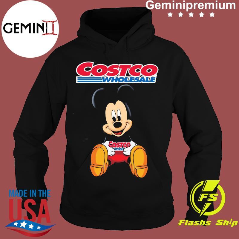 Official Disney Mickey Mouse Hug Costco Wholesale Logo Shirt Hoodie