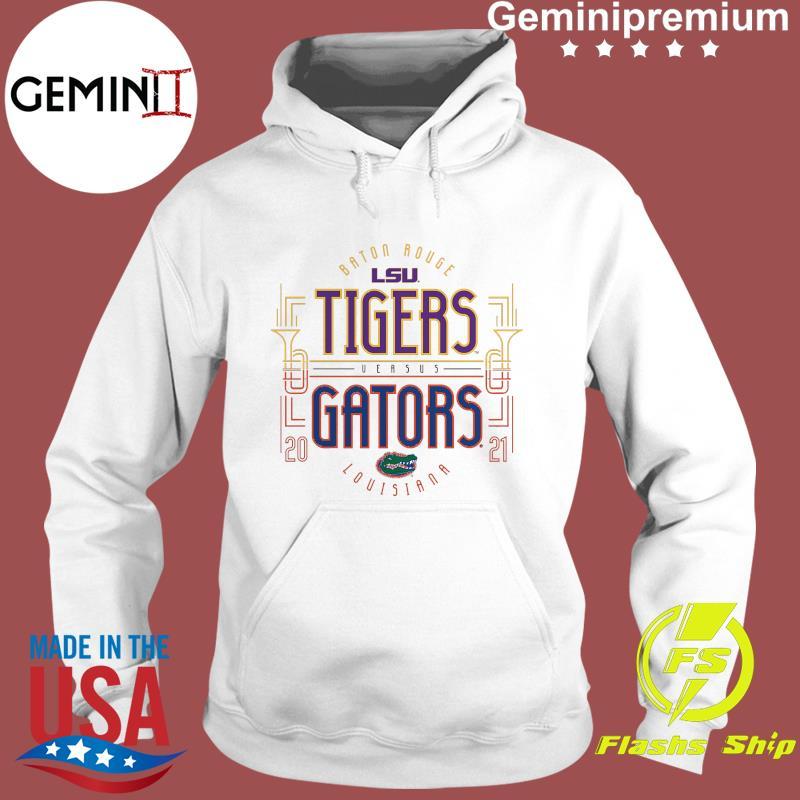 Baton Rouge LSU Tigers Versus vs. Florida Gators Louisiana 2021 T-Shirt Hoodie