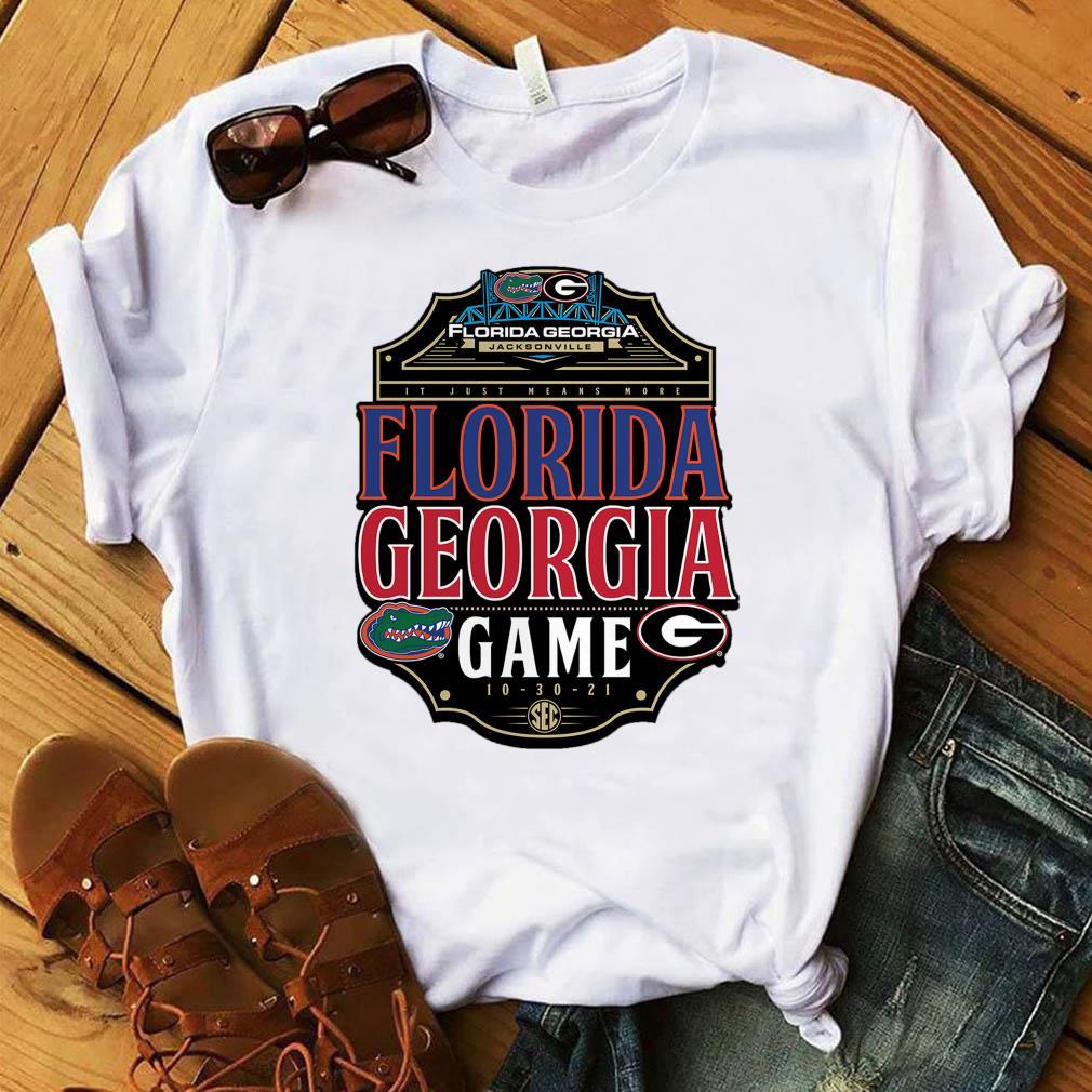 In Just Means More Florida Gators vs. Georgia Bulldogs Game 2021 Shirt