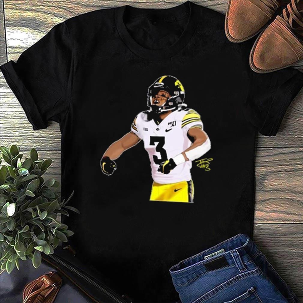 Tyrone Tracy Iowa Hawkeyes Soccer Shirt