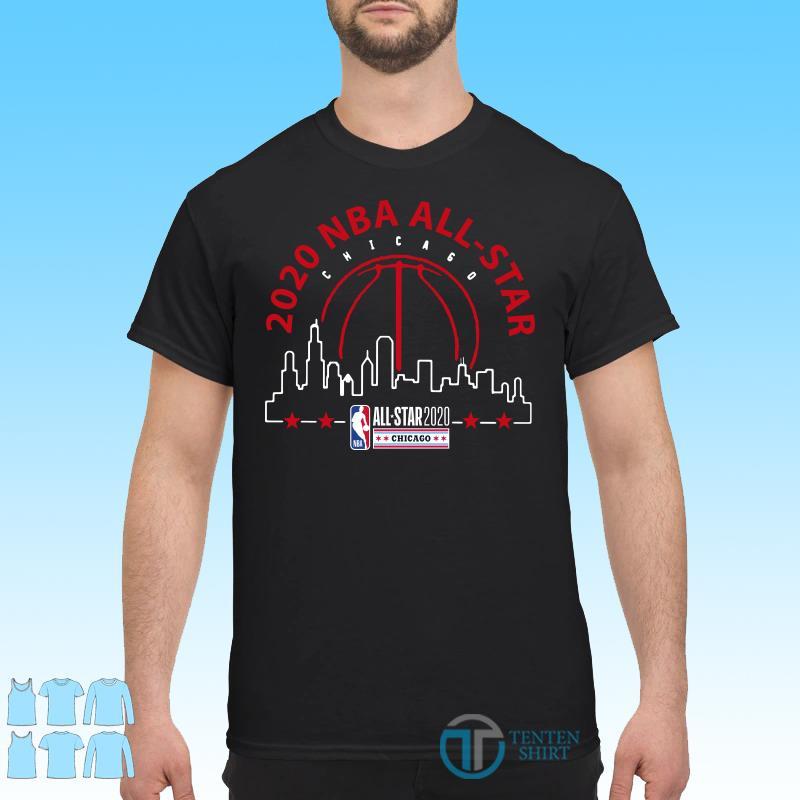 2020 NBA AllStar Black Got The Skills shirt