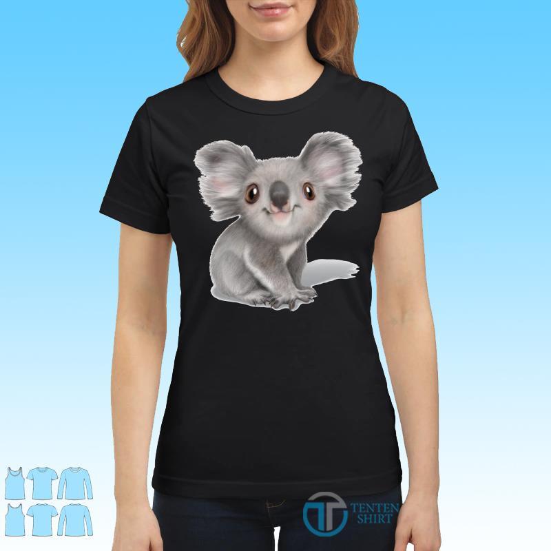 Balenciaga Koala shirt Ladies tee