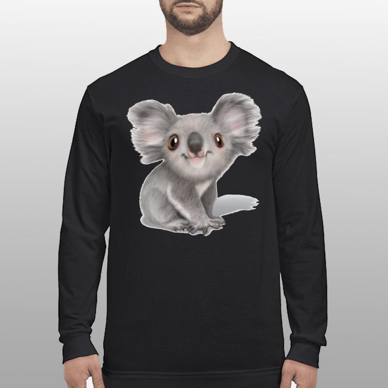 Balenciaga Koala shirt longsleeve