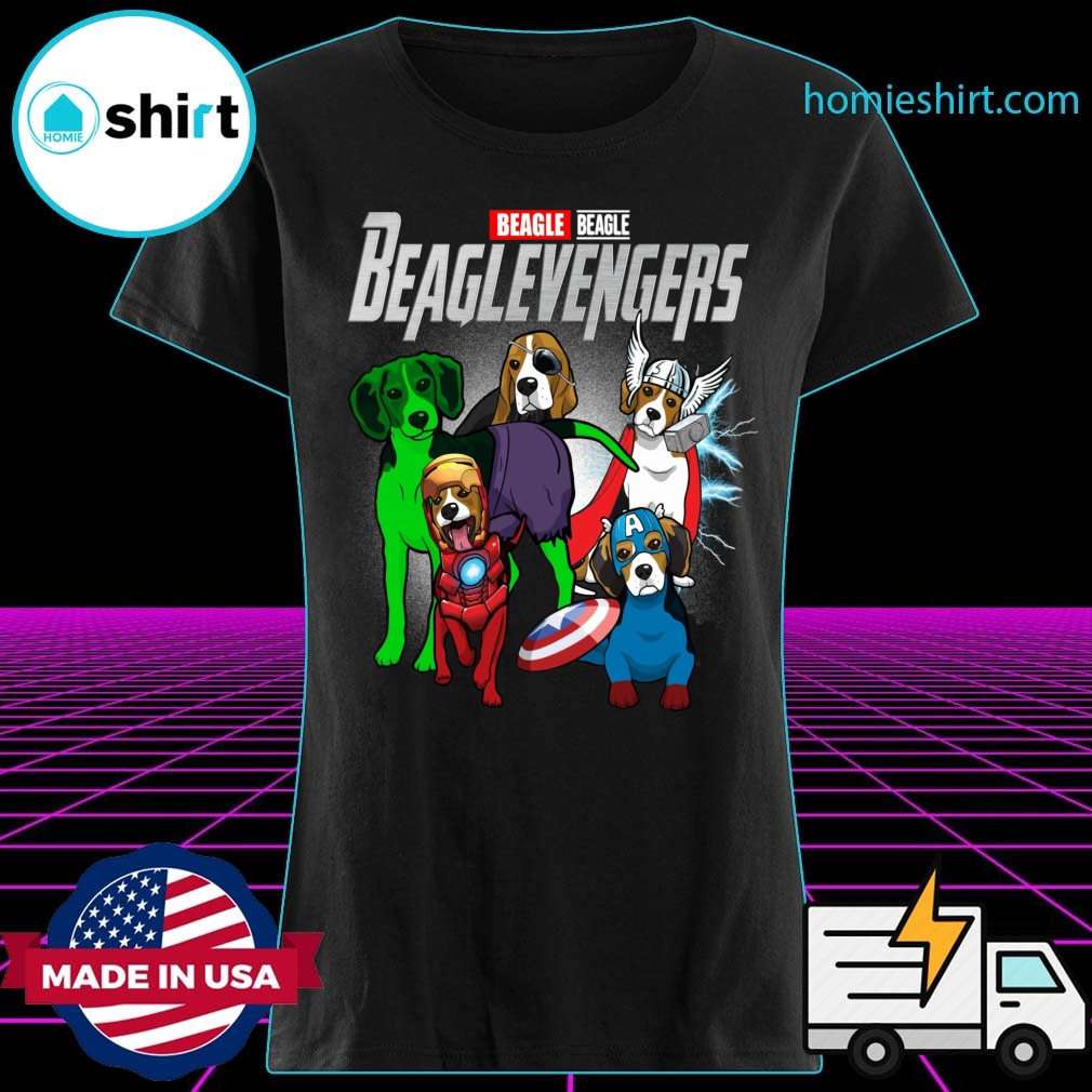 Beagle Beaglevengers Shirt Ladies