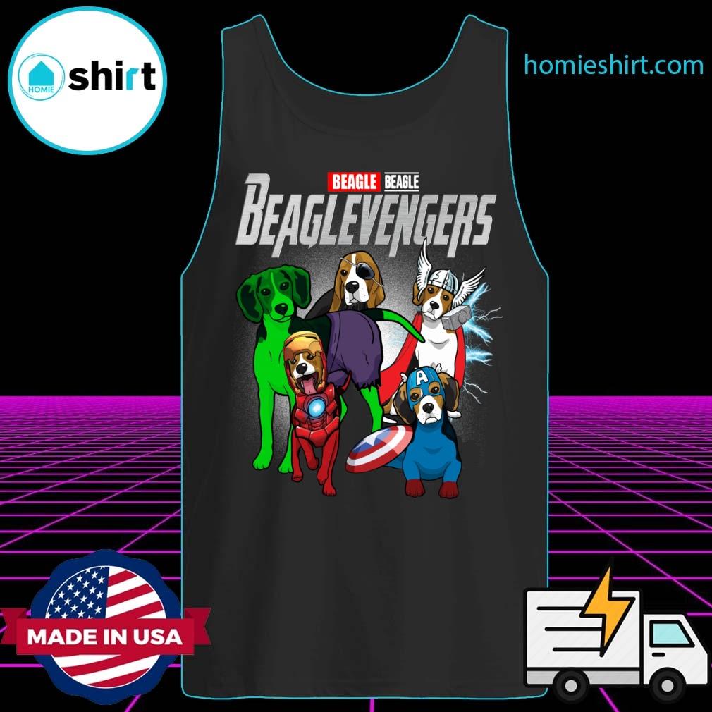 Beagle Beaglevengers Shirt Tank-Top