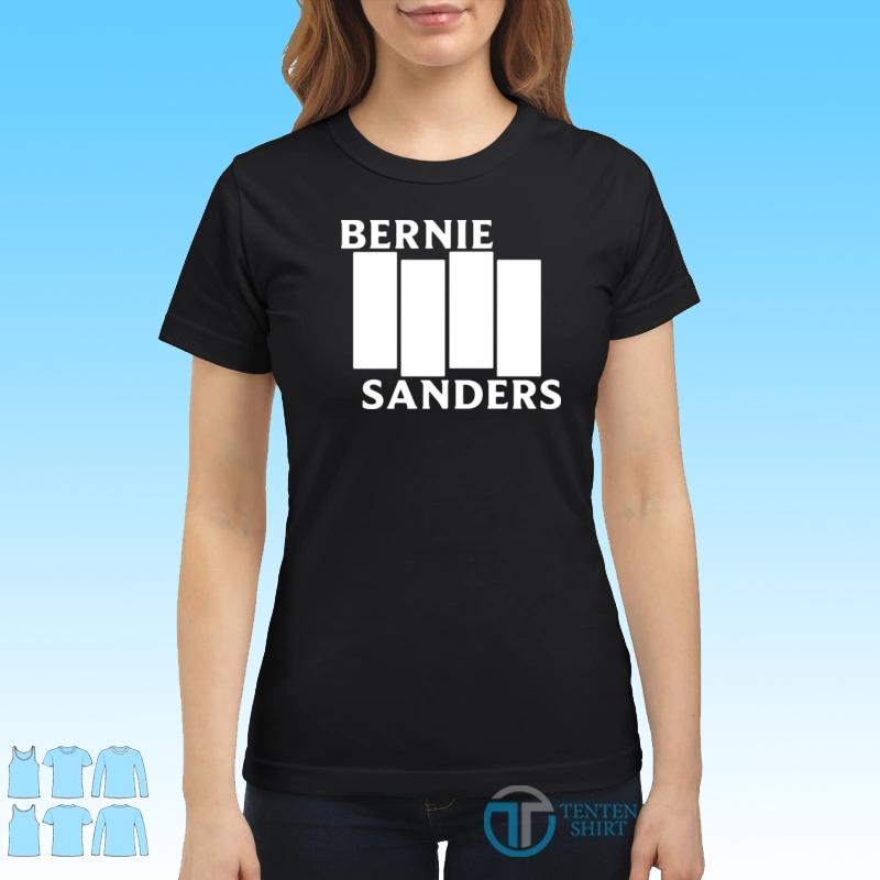 Bernie Sanders Black Flag