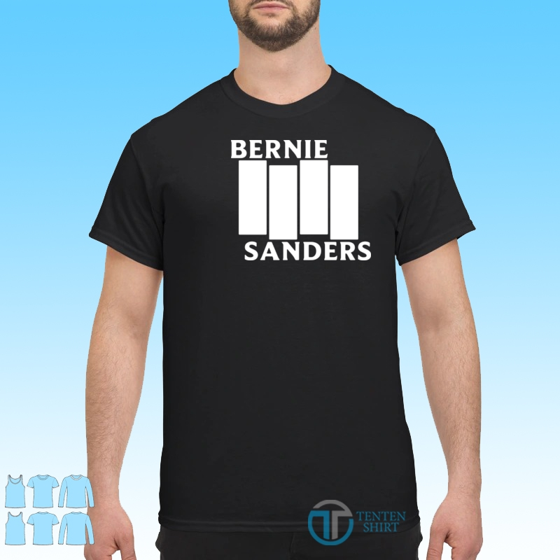 Bernie Sanders Black Flag Shirt