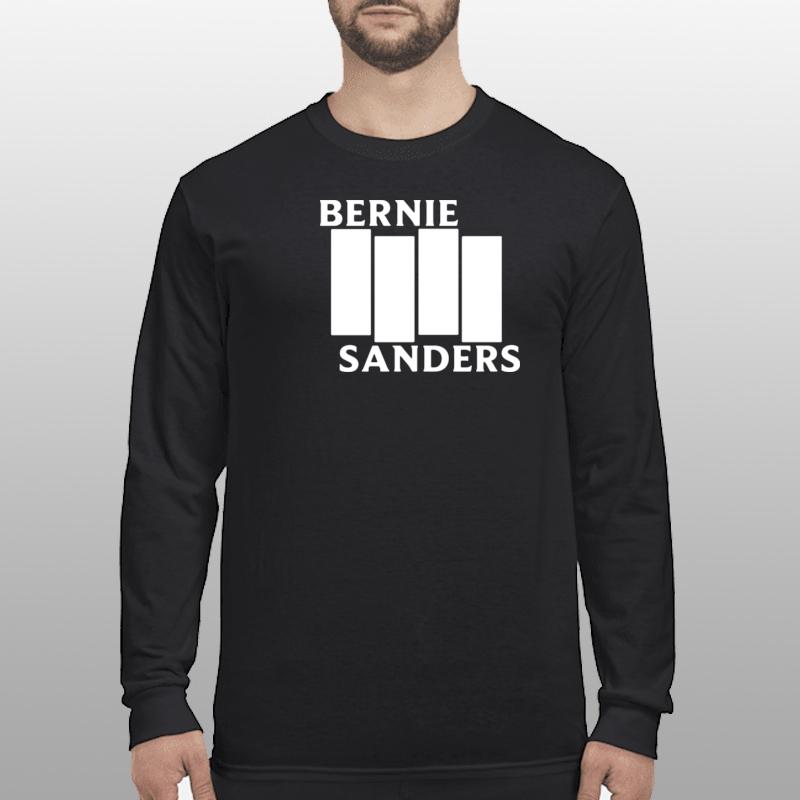 Bernie Sanders Black Flag longsleeve
