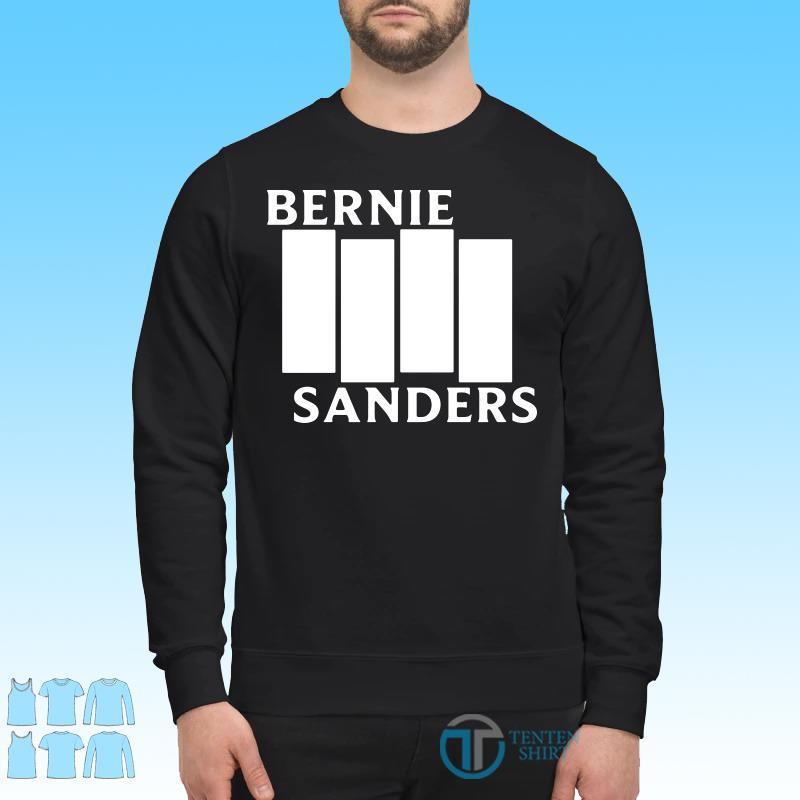 Bernie Sanders Black Flag shirt Sweater