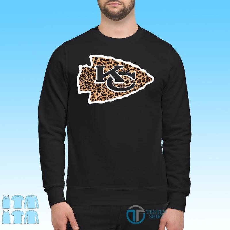 Kansas City Chiefs leopard shirt Sweater