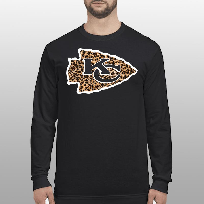 Kansas City Chiefs leopard shirt longsleeve