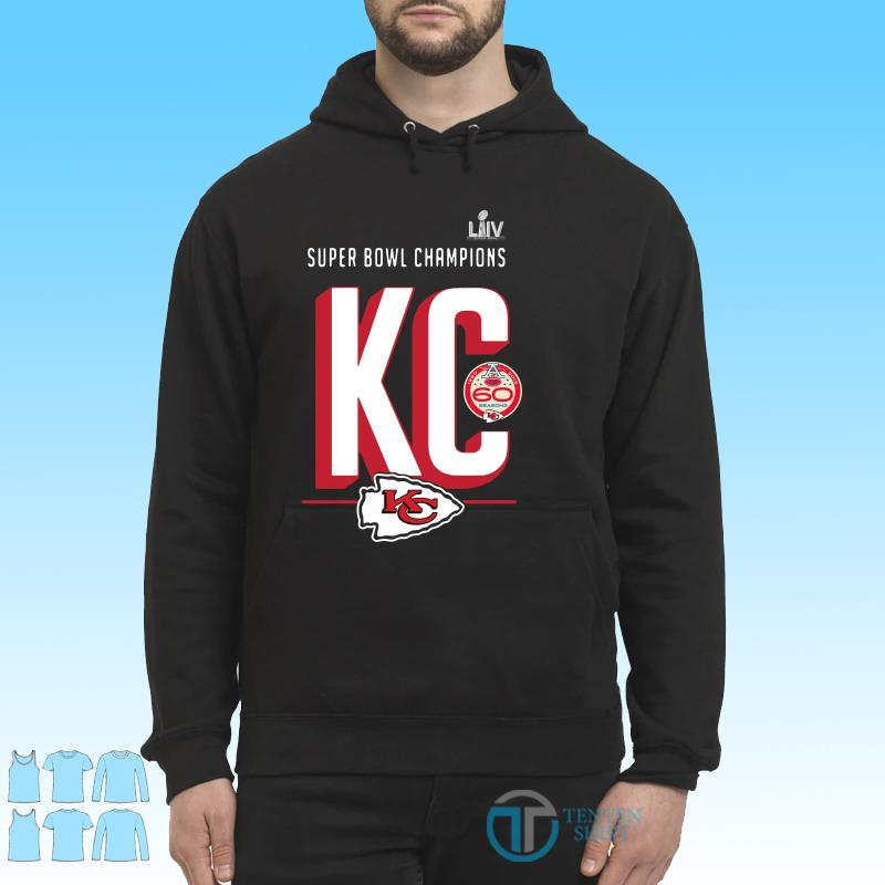 Super bowl liv champions Kansas city chiefs hometown 2020 shirt Hoodie