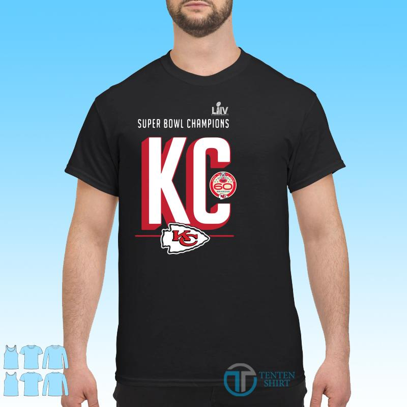 Super bowl liv champions Kansas city chiefs hometown 2020 shirt