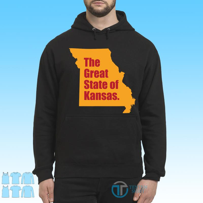 The Great State Of Kansas City Chiefs Super Bowl Shirt Hoodie