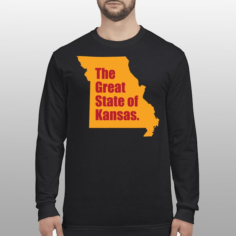 The Great State Of Kansas City Chiefs Super Bowl Shirt longsleeve