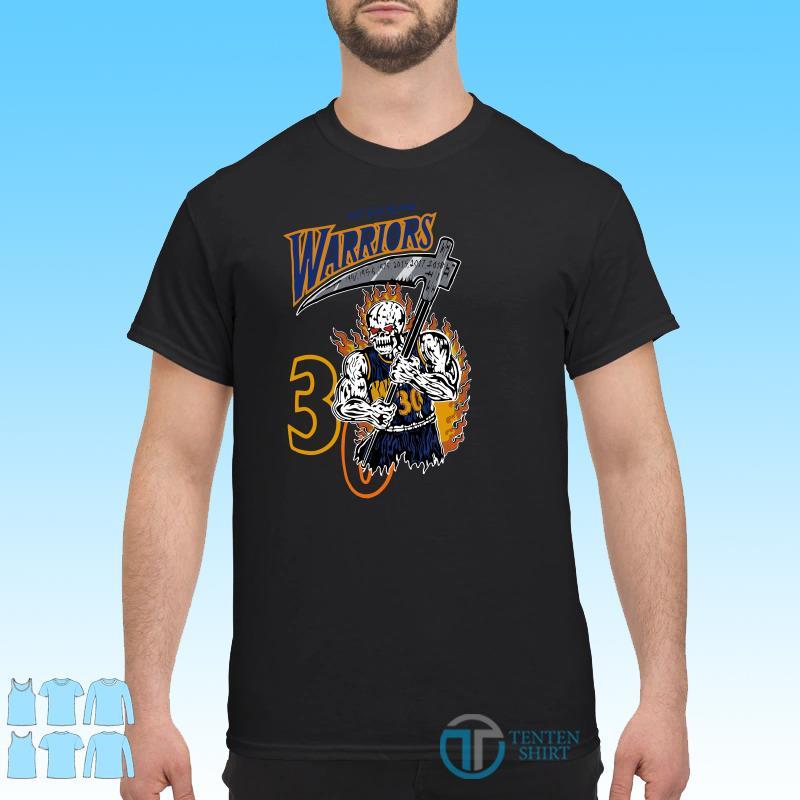 Warren Lotas Warriors Out For Blood Warriors Shirt