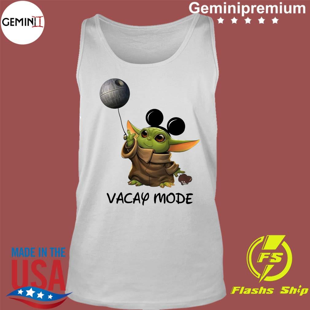 Star Wars Baby Yoda Vacay Mode s Tank Top