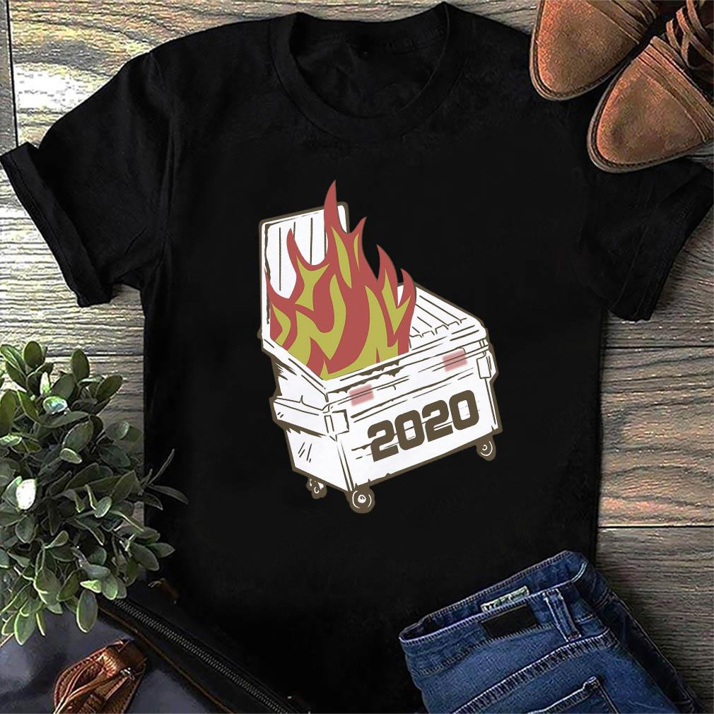 Official Dumpster Fire 2020 T-Shirt
