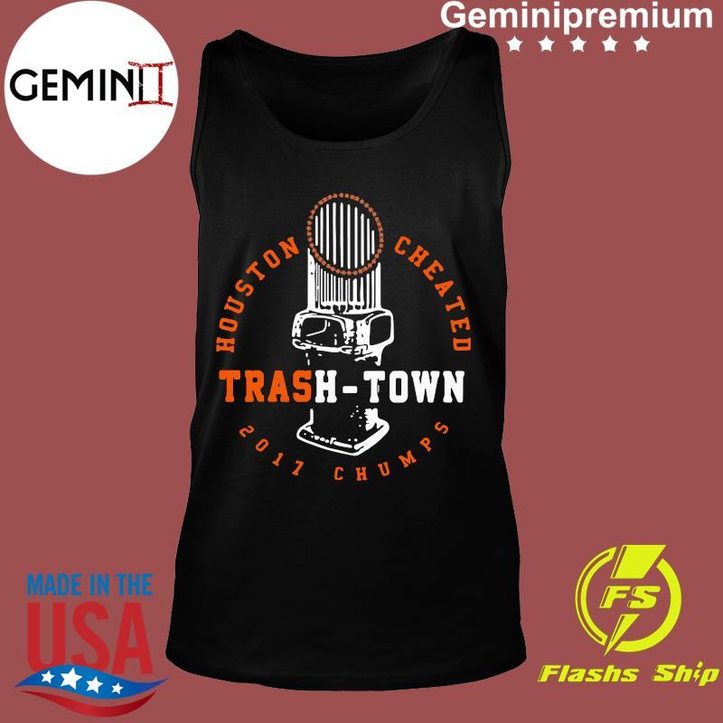 Houston Cheated Trash Town 2017 Champs Shirt Tank top